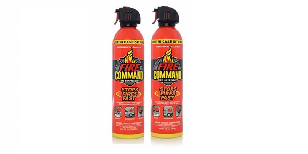 Fire Command Fire Extinguishing Aerosol Foam Spray